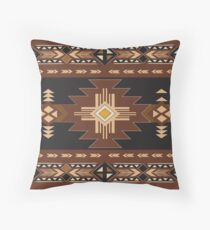 American Native Pattern No. 95 Throw Pillow