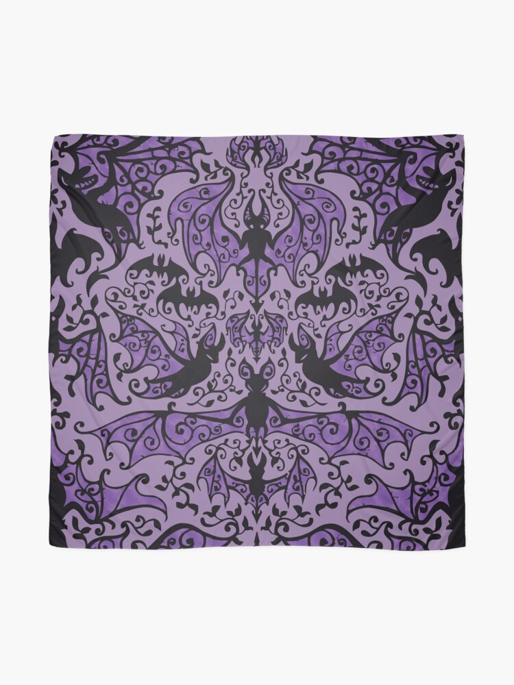Alternate view of Bats In The Belfry Scarf