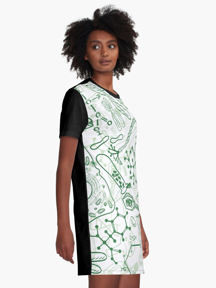 Alternate view of Germ Science Graphic T-Shirt Dress
