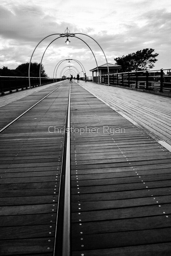 evening walk Southport by Christopher Ryan