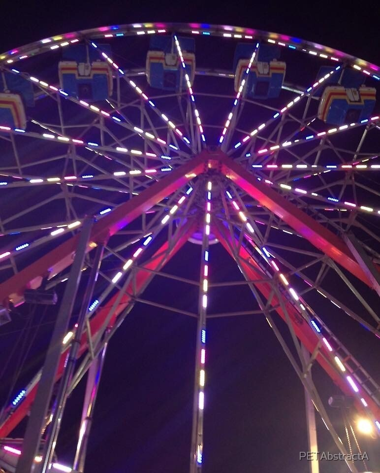 Neon Ferris Photography  by PETAbstractA