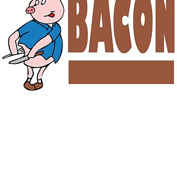 Bacon - Pig Eating Himself by mlubbe