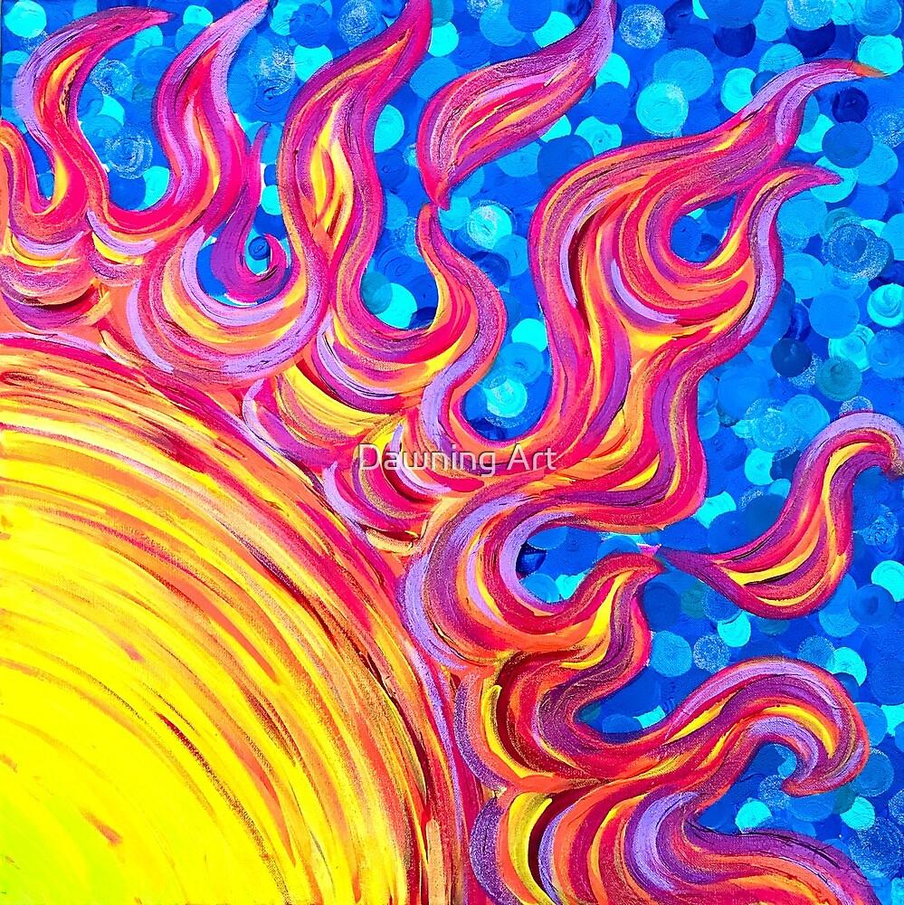 Solar Flare by Dawning Art