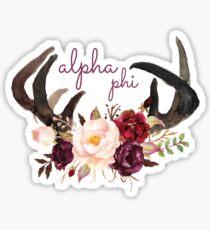 APhi Horns Sticker