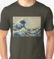 Japanese Wave Kanagawa Japan Unisex T-Shirt