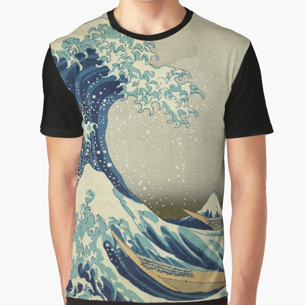 Japanese Wave Kanagawa Japan Graphic T-Shirt