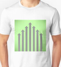 Street Roads Icon on Green Background.  Travel Concept T-Shirt
