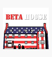 Beta House (Patriot) Photographic Print