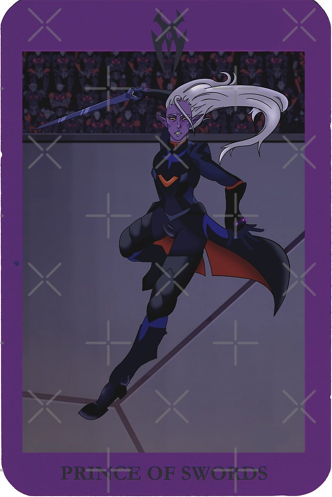Lotor, Prince of Swords (TAROT) by miraculouslolli