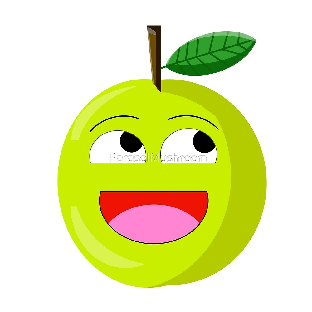 TrolLOL Apple by ParasolMushroom