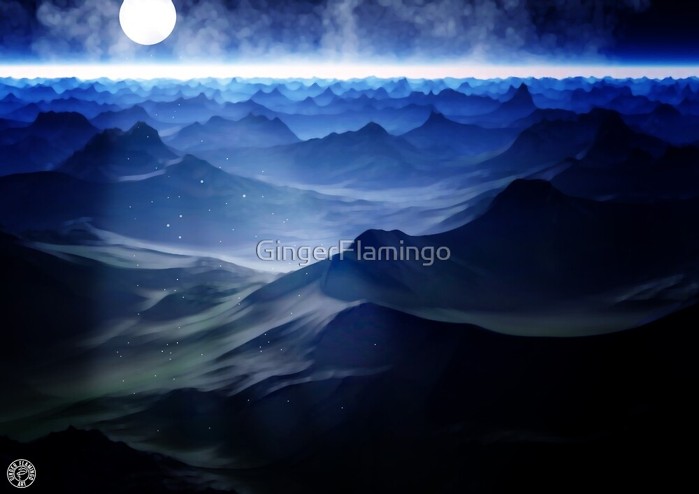 Moon light by Ginger Flamingo