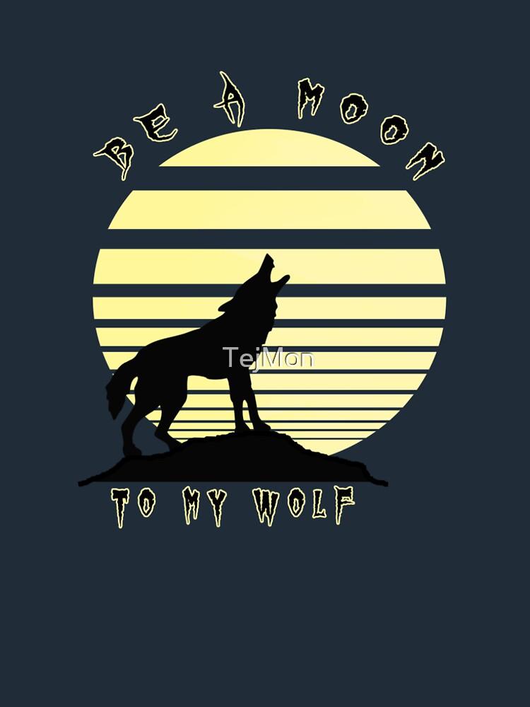 Moon wolf by TejMon