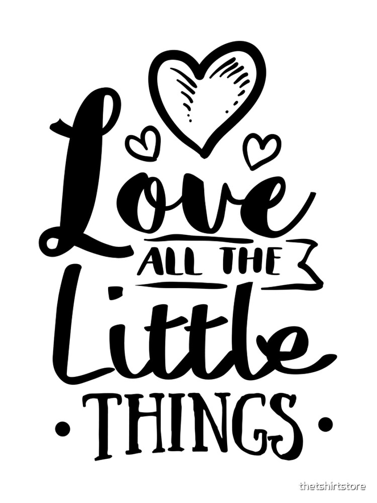 Love all the little things by thetshirtstore