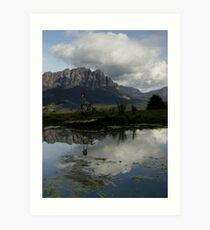 photoj Tasmania, Mt Roland Art Print