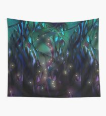 Nocturne (with Fireflies) Wall Tapestry