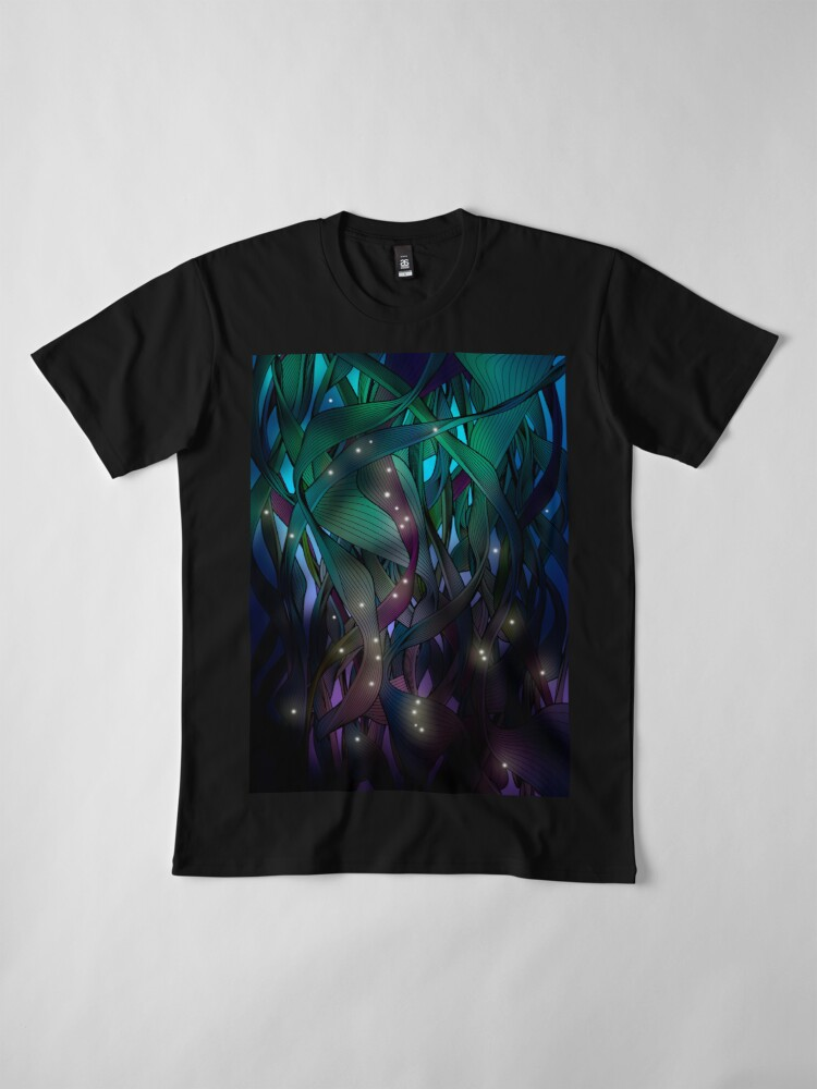 Alternate view of Nocturne (with Fireflies) Premium T-Shirt