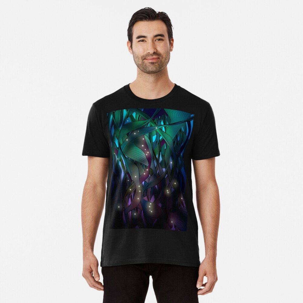 Nocturne (with Fireflies) Premium T-Shirt