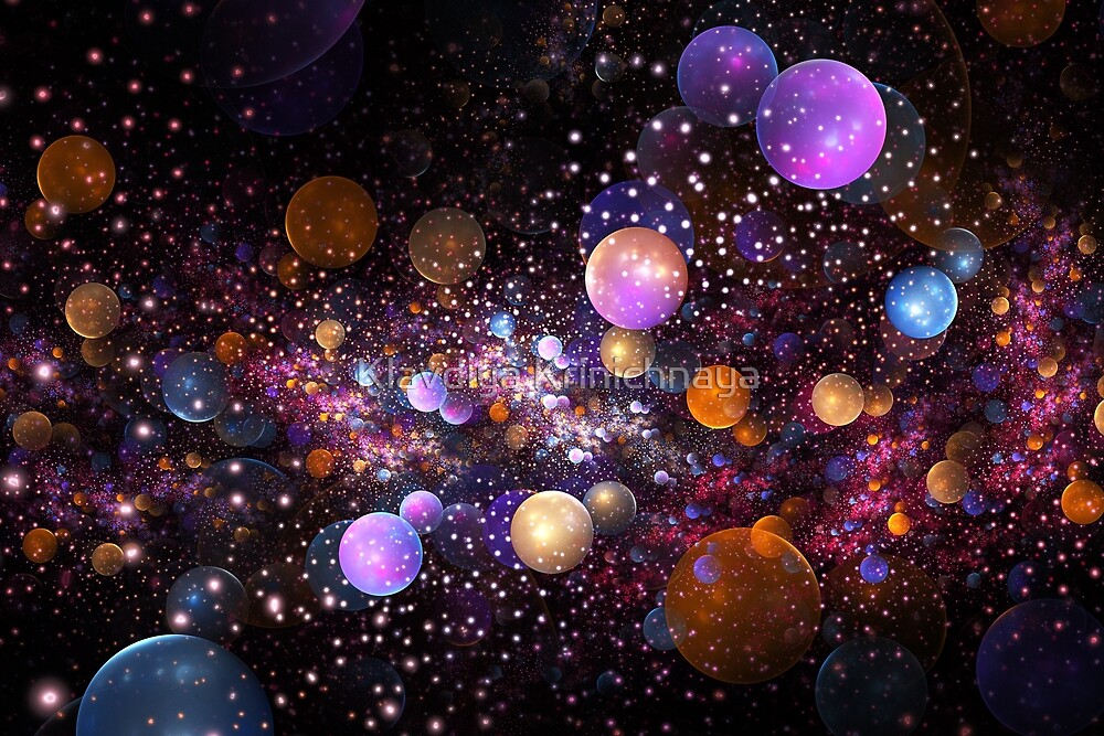 Sparkles by Klavdiya Krinichnaya