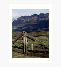 photoj Tas, Mt Roland Art Print