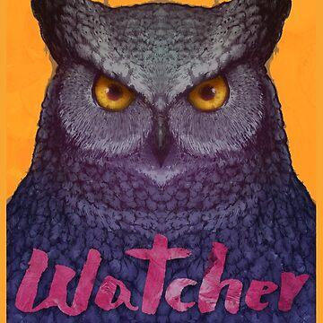 Owl Watcher by Villainmazk