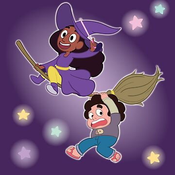 Connie and Steven's Very Witchy Halloween by SleepyGardenFox