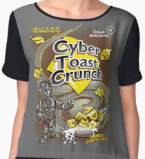 Cyber Toast Crunch Chiffon Top