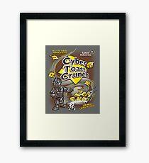 Cyber Toast Crunch Framed Print
