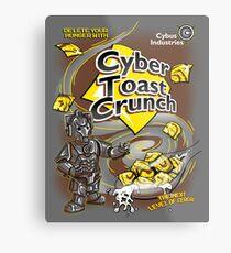 Cyber Toast Crunch Metal Print