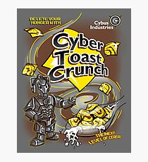 Cyber Toast Crunch Photographic Print
