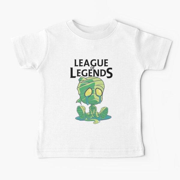 La momia llorando - con texto Camiseta para bebés