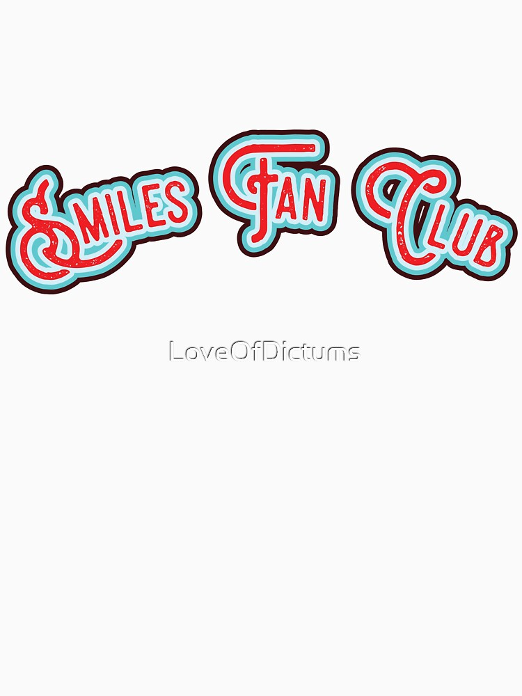 Smiles Fan Club - Red & Minty Blue Version by LoveOfDictums