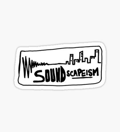 Soundscapeism  Sticker