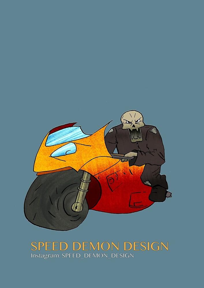 Speed Demon Design (bike) by Angelwingsart