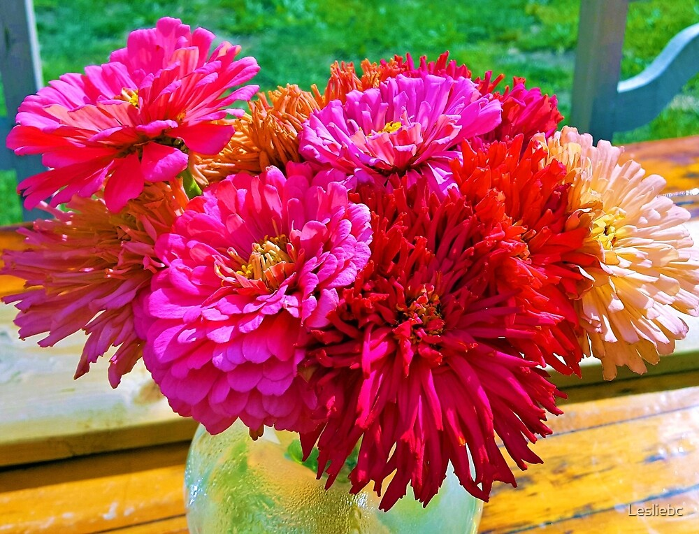 Summer Bouquet by Lesliebc