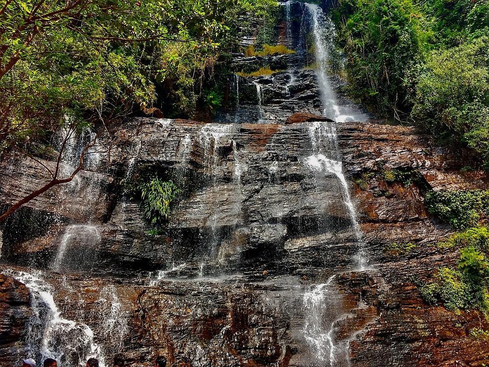 Waterfall in Goa by Rakhi  Surekha