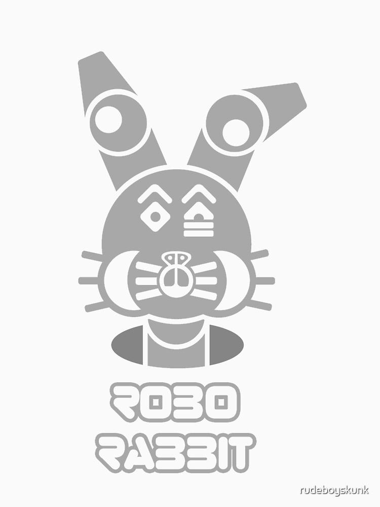 Robo Rabbit (With Text) by rudeboyskunk