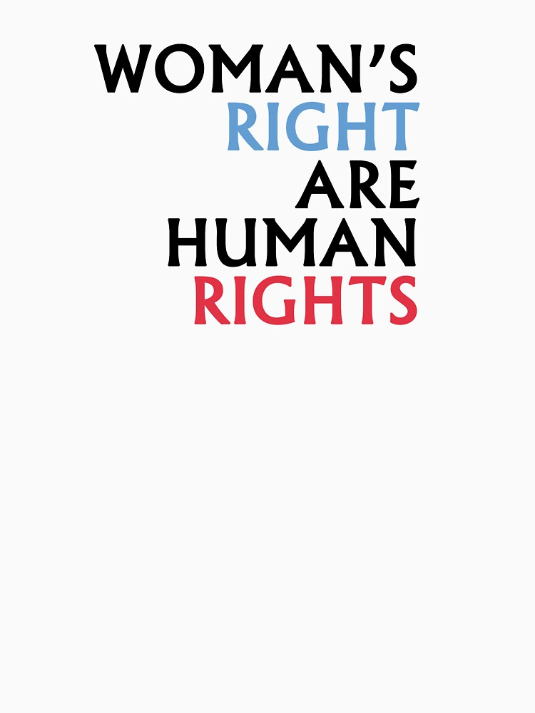 Woman's Right are Human Rights by ramirodiz