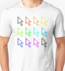 Coloured Cursors T-Shirt