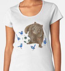 Wrens football Wombat Women's Premium T-Shirt