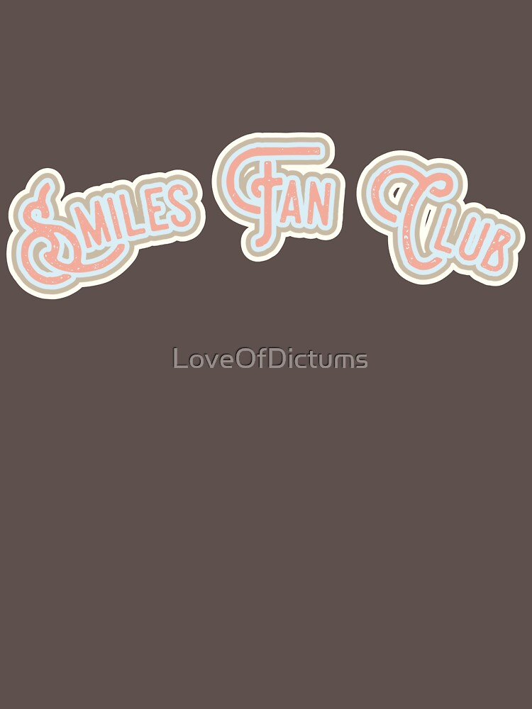 Smiles Fan Club - Pink & Portabello Brown Version by LoveOfDictums