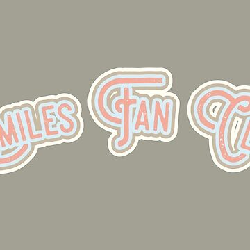 Smiles Fan Club - Pink & Portabello Brown Version by LoveOfDictums