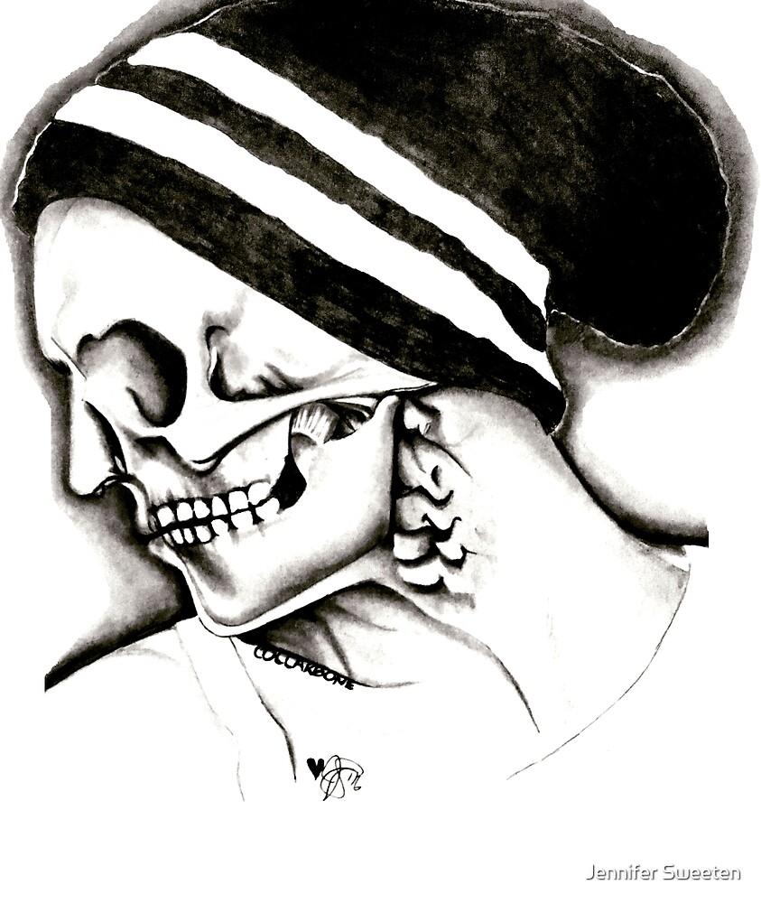 Skull Profile by Jennifer Sweeten