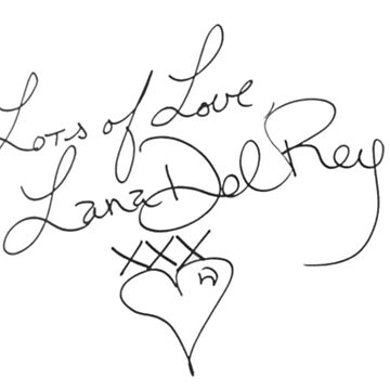 Lana Del Rey Actual Signature by TomGBR