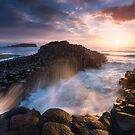 Fingal Sunrise by Michael Breitung