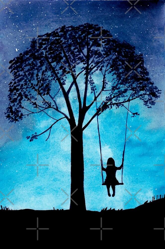 Swinging Stargazer by Gingerlique