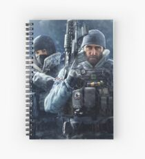 Frost And Buck Spiral Notebook