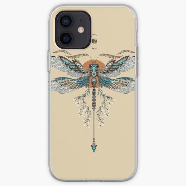 Dragon Fly Tattoo iPhone Soft Case