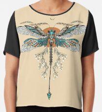 Drachenfliegen Tattoo Chiffontop