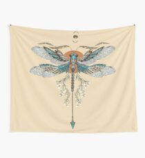 Dragon Fly Tattoo Wall Tapestry