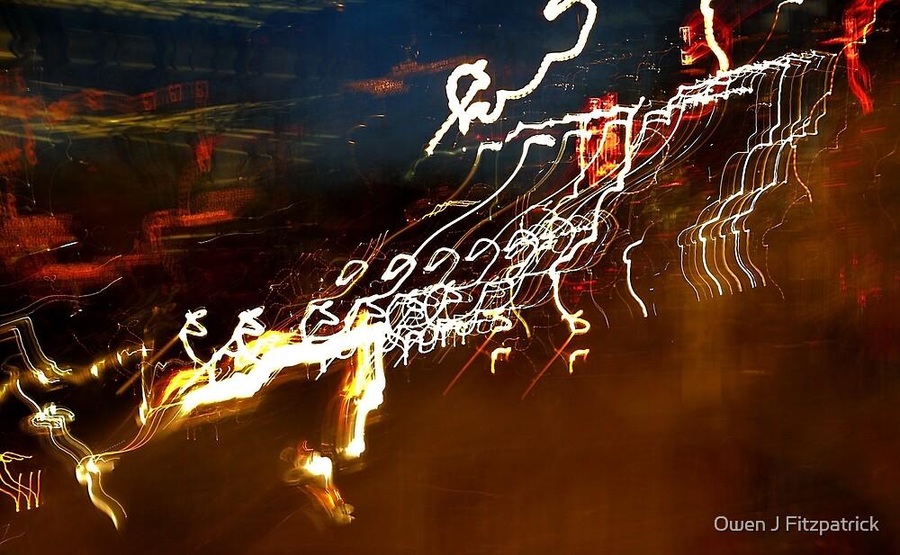 White Neon by Owen J Fitzpatrick
